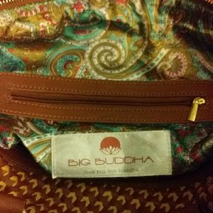 Unique pattern Big Buddha purse